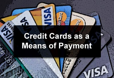 Credit Cards as a Means of Payment