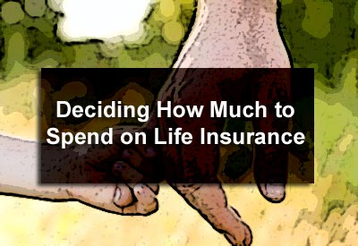 Deciding How Much to Spend on Life Insurance