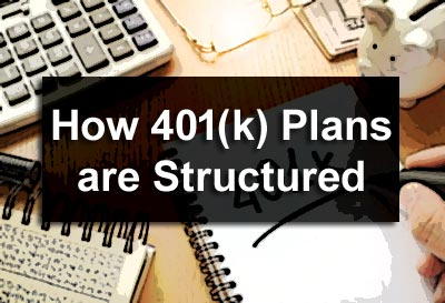 How 401(K) Plans are Structured