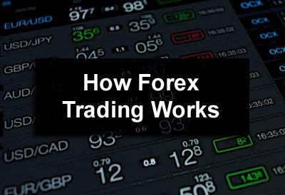 أنشطة التداول How-forex-trading-works