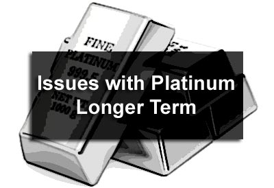 Issues with Platinum Longer Term