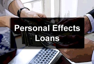 Personal Effects Loans