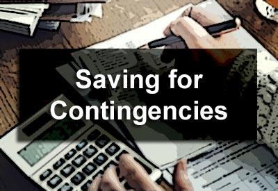 Saving for Contingencies