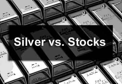 Silver vs. Stocks