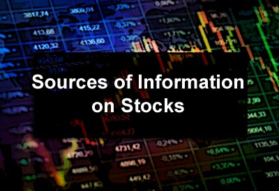 Sources of Information on Stocks