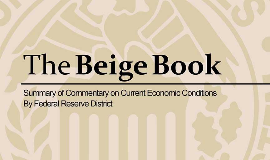 Beige Book Federal Reserve