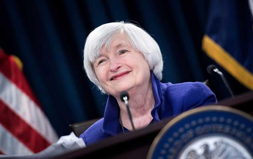 Janet Yellin Named New Treasury Secretary